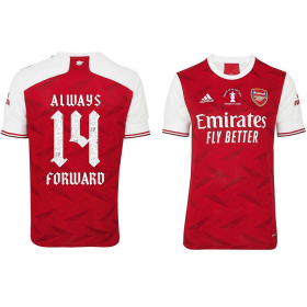 Arsenal Home 20/21 Cup Final Celebration Shirt