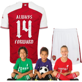 Kid's Arsenal Home 20/21 Cup Final Celebration Shirt Suit