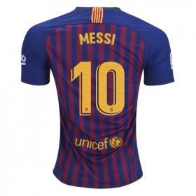 Barcelona #10 MESSI Home Jersey 18/19